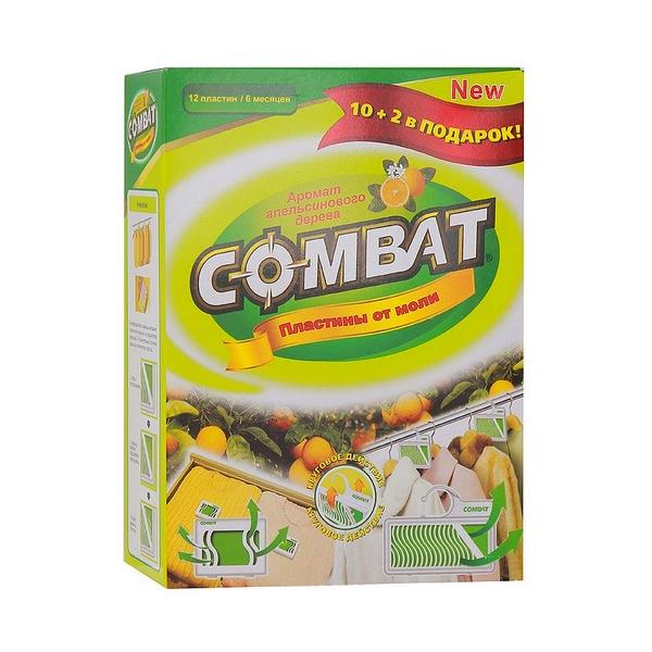 Средство защиты COMBAT Пластины 10+2шт