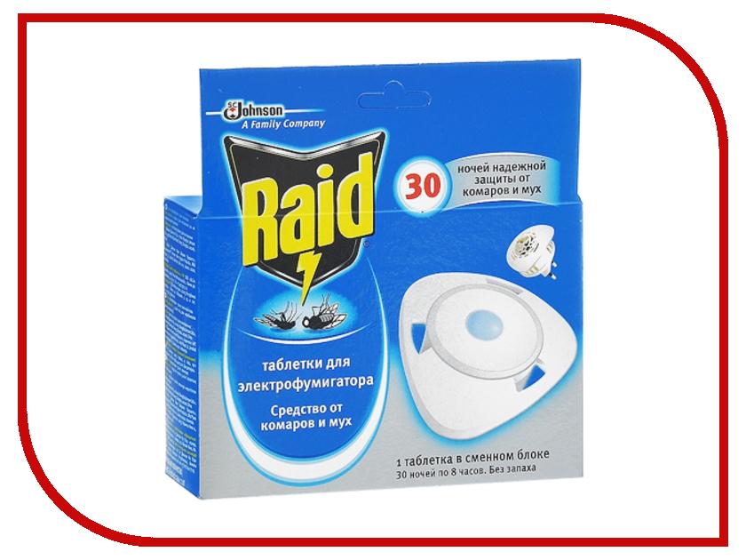 Средство защиты от комаров SC Johnson Raid Электродиффузор сменный блок<br>