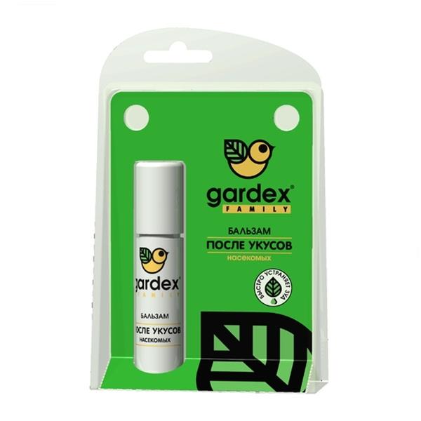 Средство защиты от комаров Gardex Family Бальзам 7ml