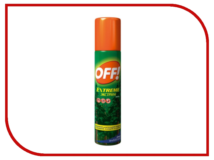 Средство защиты от комаров SC Johnson Off! Экстрим спрей 100ml