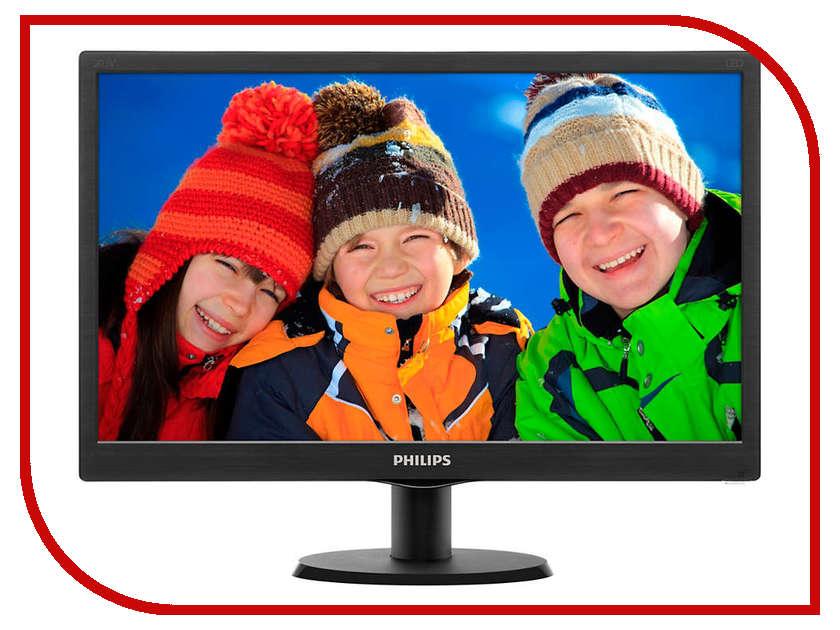 Монитор Philips 203V5LSB26 10/62 Glossy-Black цена и фото