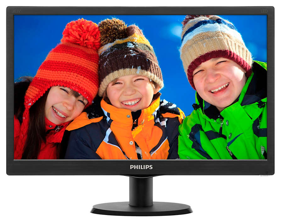Монитор Philips 203V5LSB26 10/62 Glossy-Black монитор philips 17s4lsb 62 black