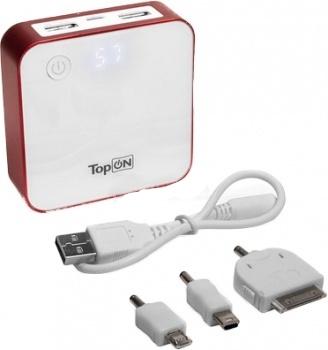 Аккумулятор TopON TOP-QUAD 7800 mAh универсальный Red