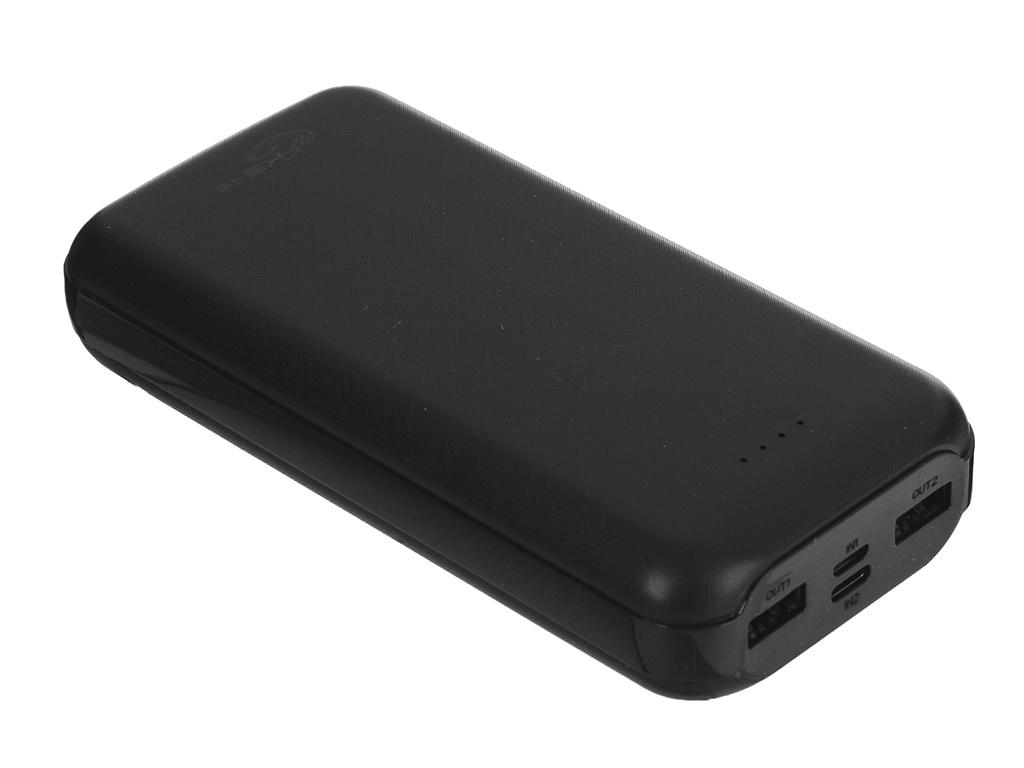 Внешний аккумулятор KS-is Power Bank 30000B KS-190B 30000mAh Black
