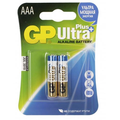 Батарейка AAA - GP Alkaline Ultra Plus 24AUP-2CR2 (2 штуки) от Pleer
