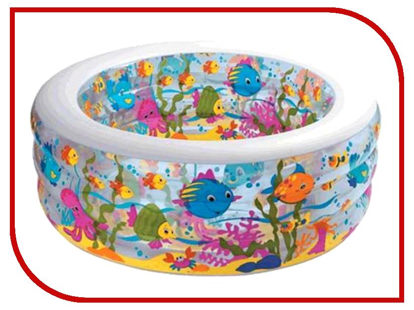 Детский бассейн Intex Аквариум 58480 лодка intex challenger k1 68305