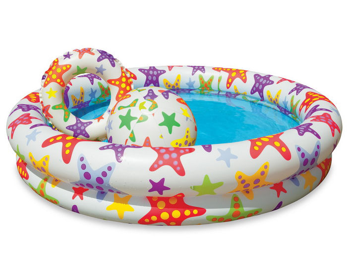 Детский бассейн Intex Звезды / Шарики 59460