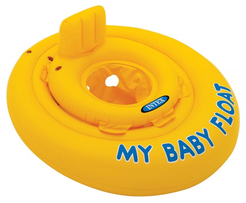 Надувной круг Intex Мой маленький плот 56585 цена