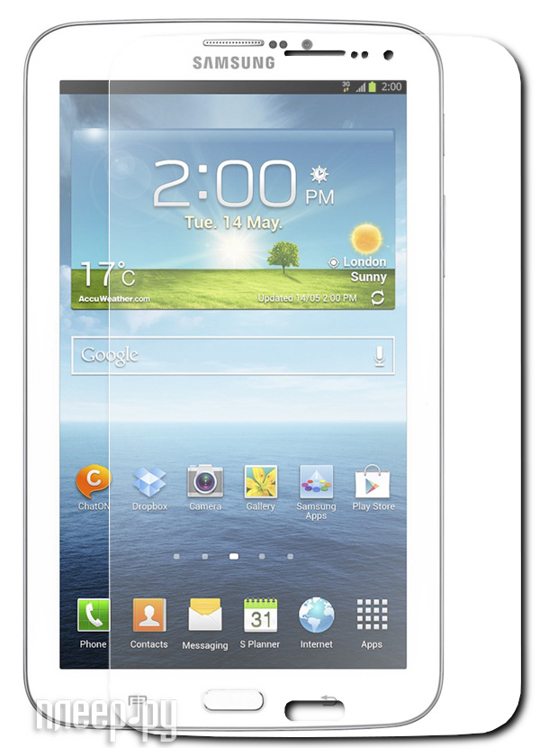 Аксессуар Защитная пленка Samsung Galaxy Tab 3 7.0 LuxCase антибликовая 80589