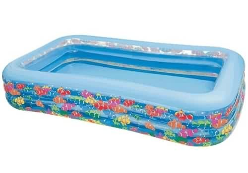 цены на Детский бассейн Intex Тропический риф 58485  в интернет-магазинах