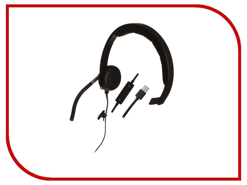 наушники, наушники с микрофоном и гарнитуры H650e  Logitech USB Headset Mono H650e 981-000514