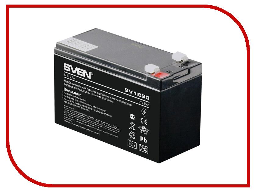 Аккумулятор для ИБП Sven SV 12V 9Ah SV1290 аккумуляторная батарея для ибп sven sv 12v7 2ah sv 012335