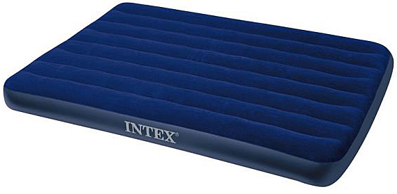 Надувной матрас Intex Queen Classic Downy 152x203x22cm 68759
