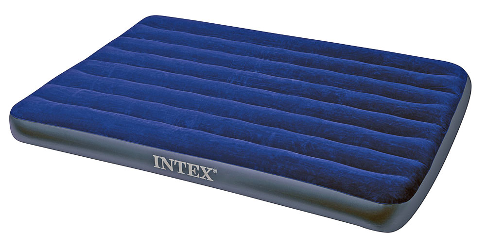 Надувной матрас Intex Full Classic Downy Bed 137x191x22cm 68758