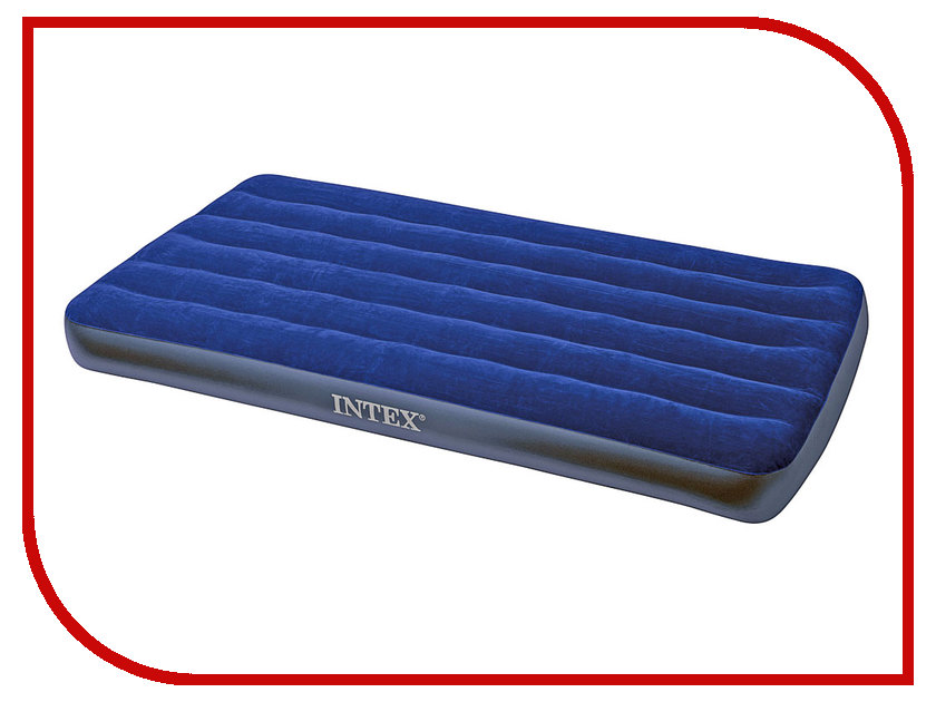 Надувной матрас Intex Twin Classic Downy Bed 191x99x22cm 68757
