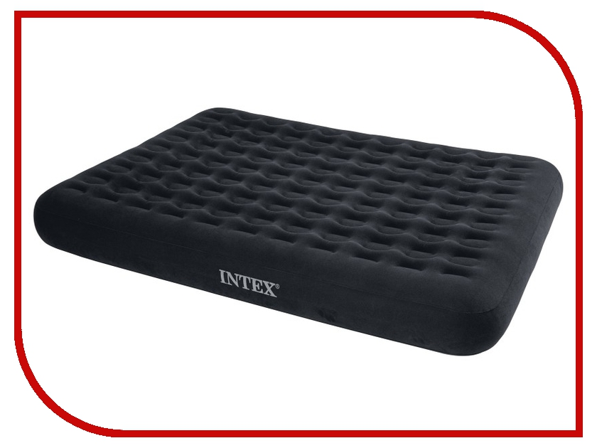 Надувной матрас Intex Queen Comfort Top Bed 152x203x23cm 66725<br>