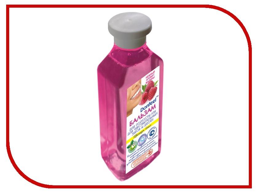 Жидкость для ирригатора Donfeel Для чувствительных зубов и десен с экстрактом малины зубная электрощетка donfeel hsd 015