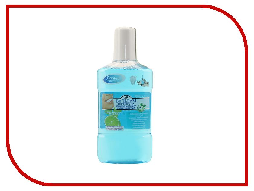 Жидкость для ирригатора Donfeel Комплексная защита. Ежедневный уход 350мл