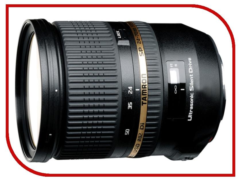 Объектив Tamron Sony / Minolta SP AF 24-70 mm F/2.8 Di USD объектив tamron sony minolta sp af 24 70 mm f 2 8 di usd