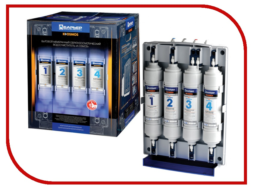 Фильтр для воды Барьер K-OSMOS кран 27<br>