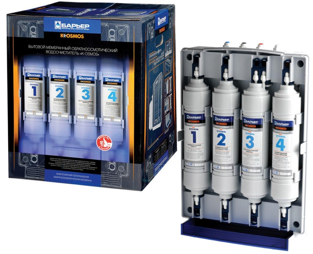 Фильтр для воды Барьер K-OSMOS кран 27