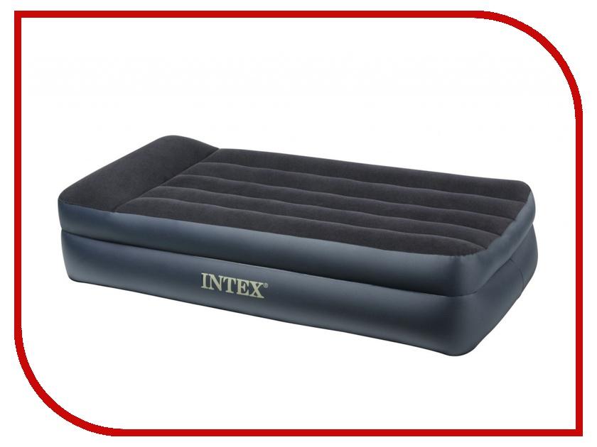 Надувной матрас Intex Rising Comfort 99x191x42cm с насосом 66706<br>