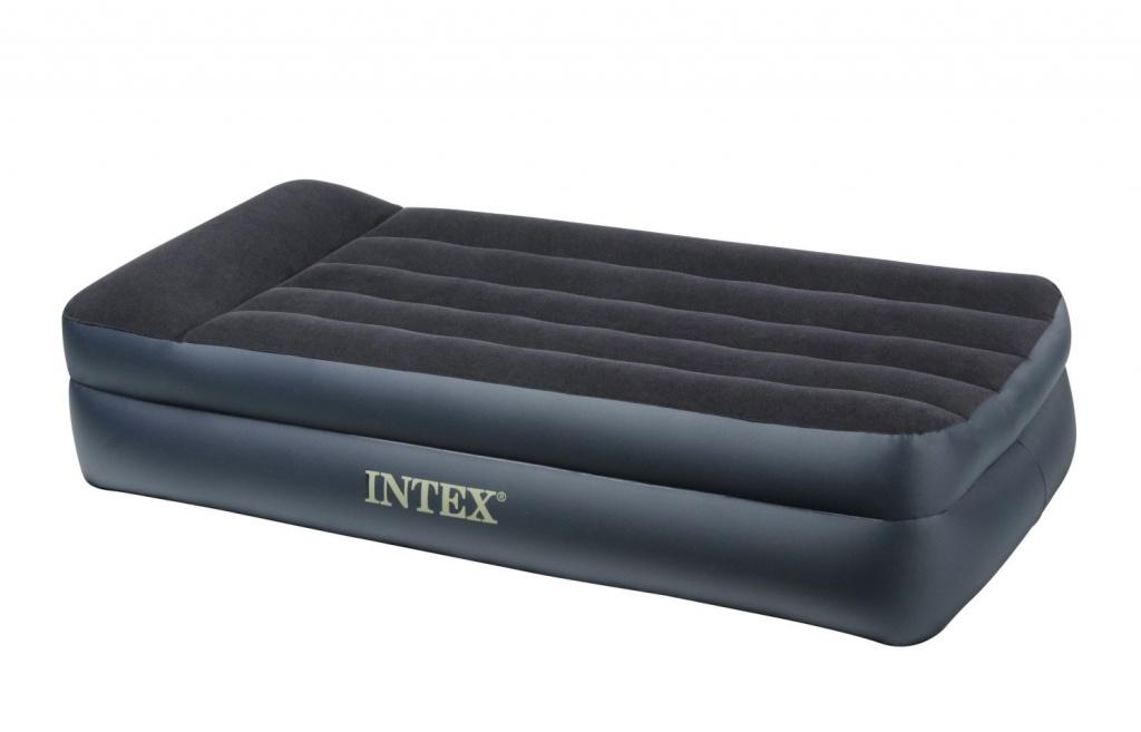 Надувной матрас Intex Rising Comfort 99x191x42cm с насосом 66706