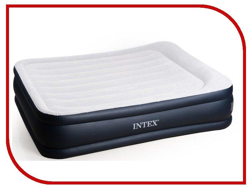 Надувной матрас Intex Rising Comfort 152x203x43cm с насосом 67738