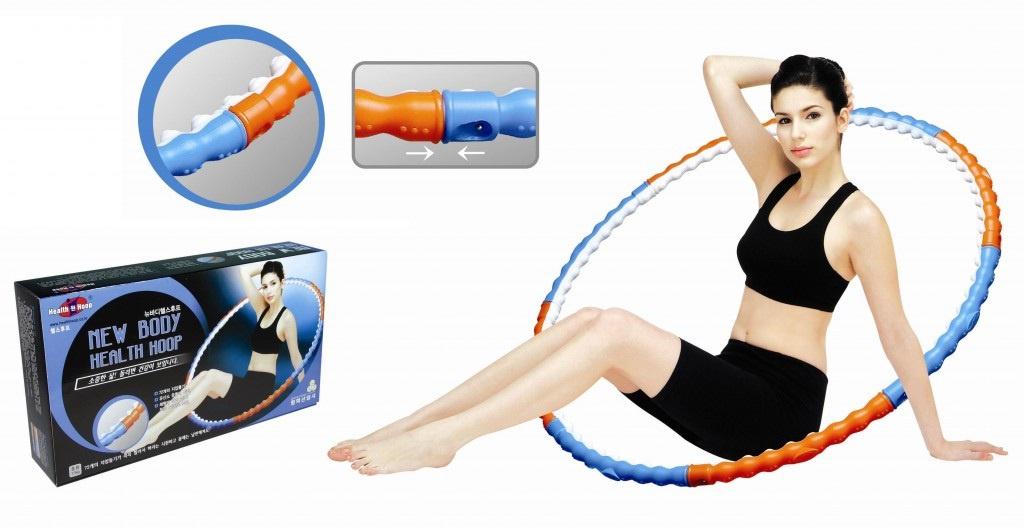 Массажный обруч ХулаХуп Health Hoop New Body PHB18000N 1.1 Kg<br>