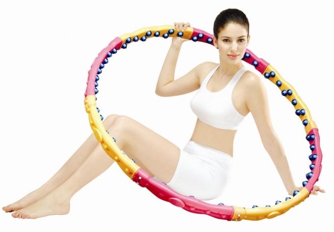 Массажный обруч ХулаХуп Health Hoop W DYNAMIC PHD33000W 2.3Kg цена