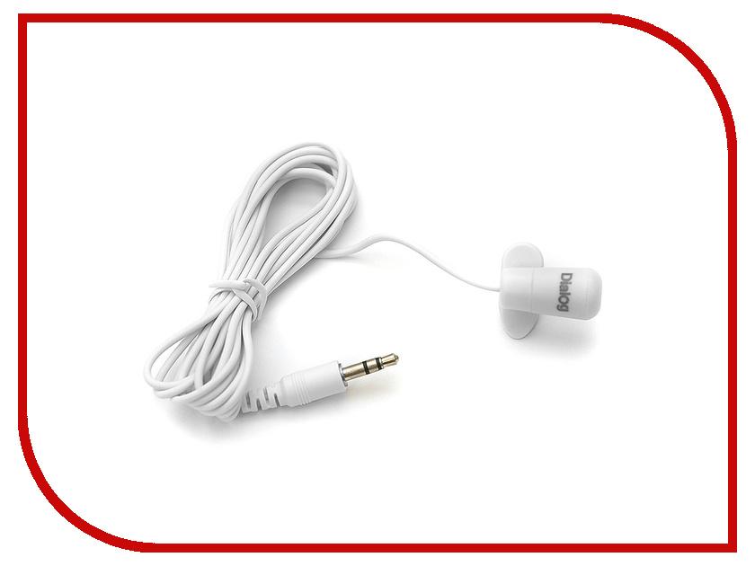 Фото Микрофон Dialog M-106W White. Купить в РФ