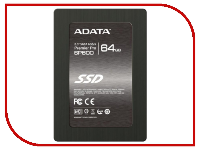 Жесткий диск 64Gb - A-Data Premier Pro SP600 ASP600S3-64GM-C<br>
