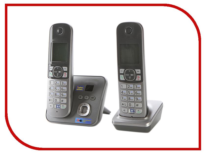 Радиотелефон Panasonic KX-TG6822 RUM panasonic kx tg1711ruw