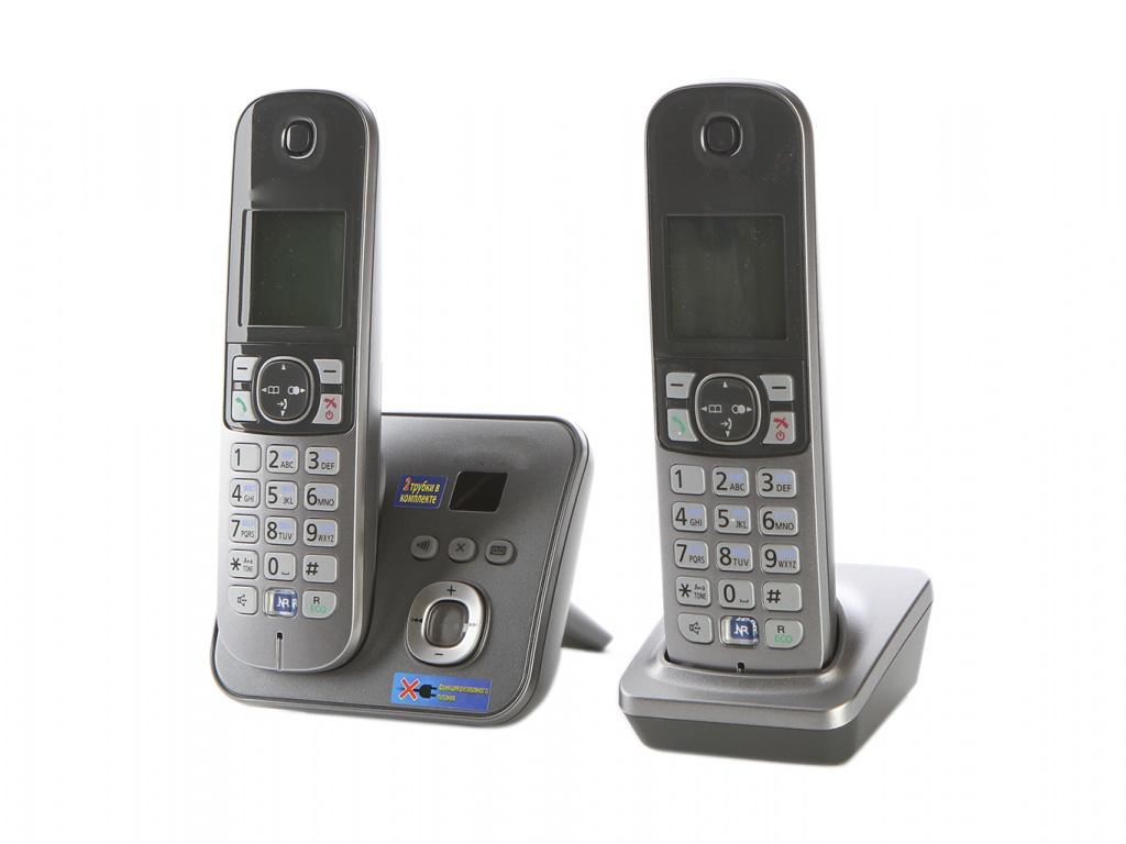 Zakazat.ru: Радиотелефон Panasonic KX-TG6822 RUM