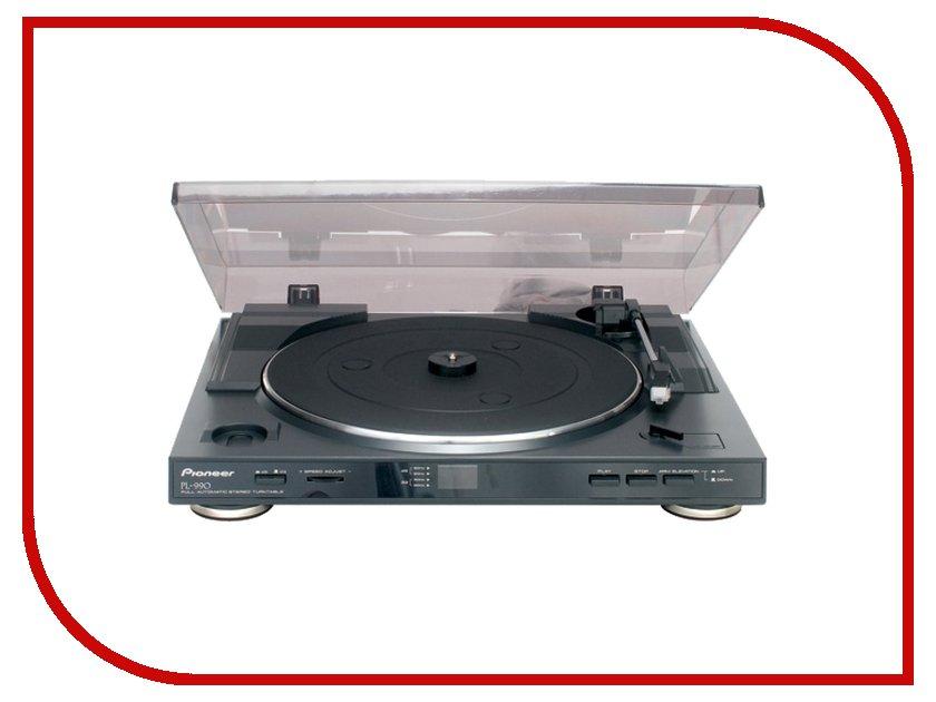 Проигрыватель виниловых дисков Pioneer PL-990 Blackпроигрыватели виниловых дисков<br><br>