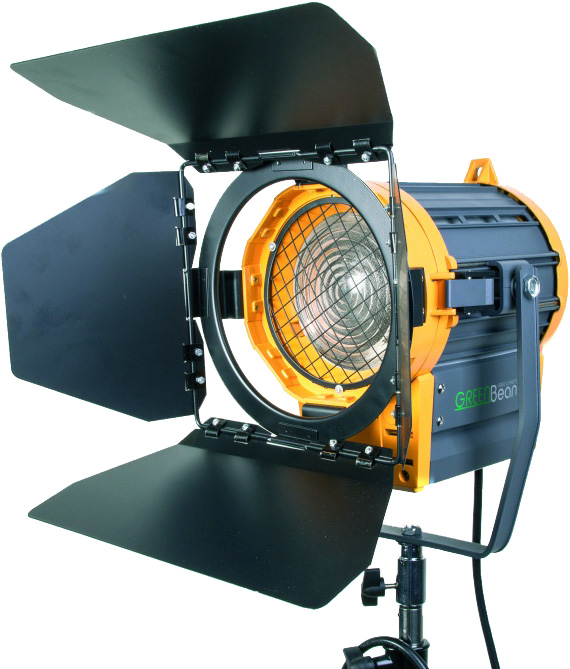 Осветитель GreenBean / Falcon Eyes Fresnel 1000 с линзой Френеля