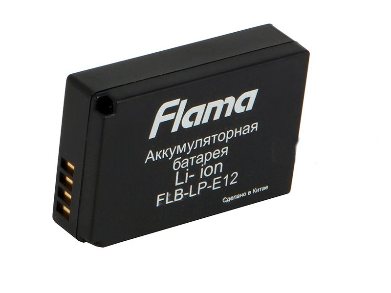 Аккумулятор Flama FLB-LP-E12