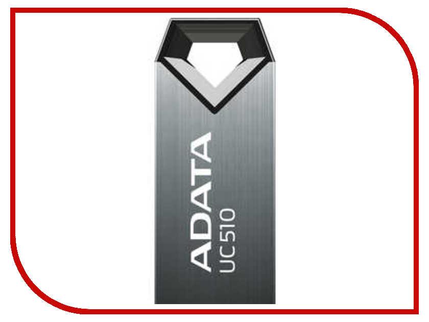 USB Flash Drive 16Gb - A-Data UC510 Metallic Titan AUC510-16G-RTI<br>