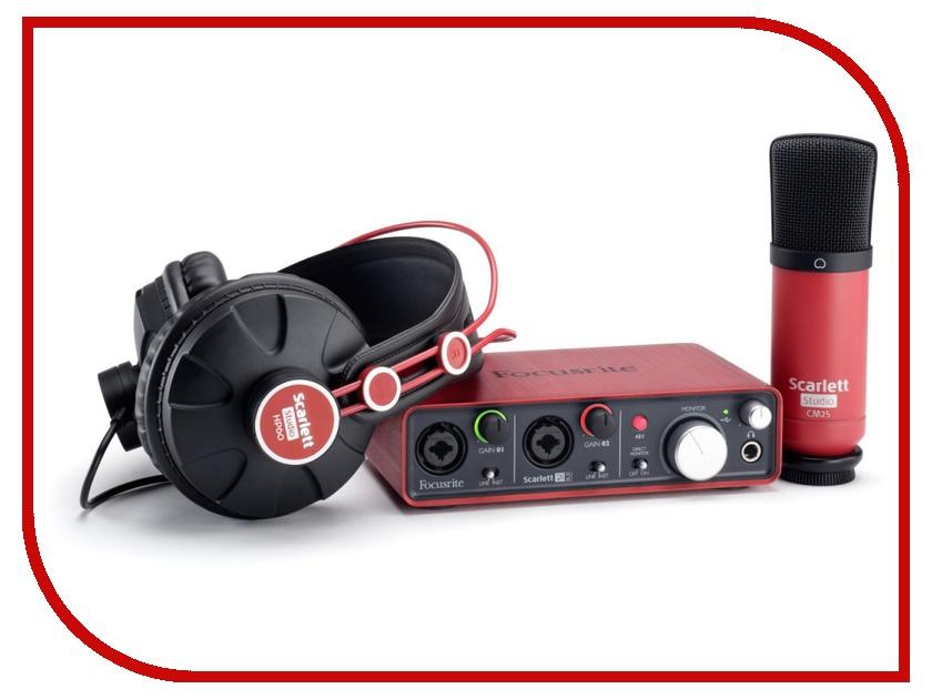 Комплект для звукозапсиси Focusrite Scarlett Studio
