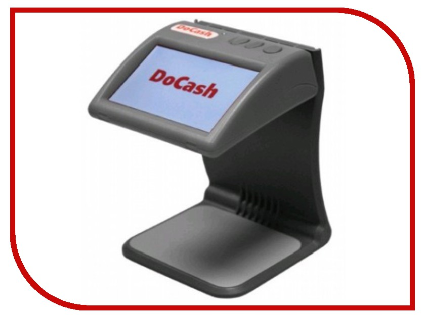 Детектор валют DoCash mini IR / DVM mini Grey