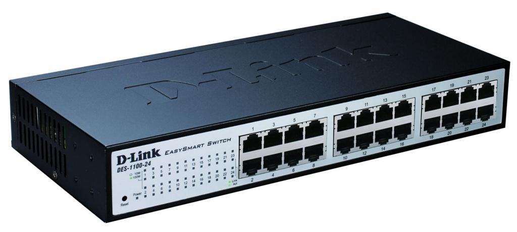 Коммутатор D-Link DES-1100-24 10pcs lot db15 3rows parallel vga port hdb9 15 pin d sub male solder connector metal shell cover