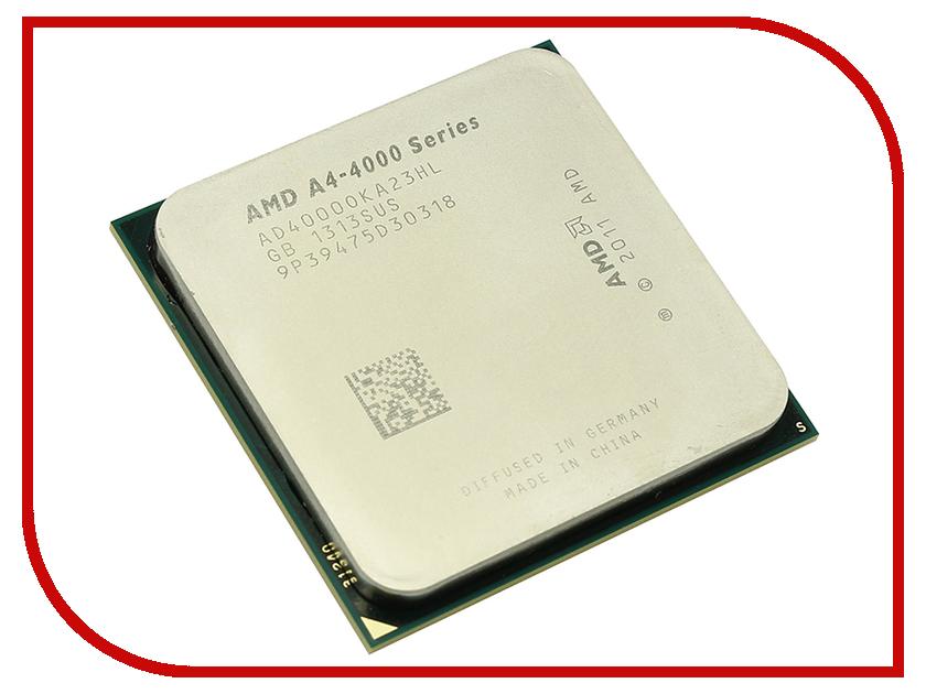 Процессор AMD X2 A4-4000 Richland OEM AD4000OKA23HL (3000MHz/SocketFM2/1024Kb) процессор amd a4 4000 box &lt socketfm2&gt ad4000okhlbox