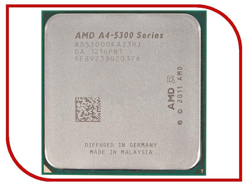 Процессор AMD X2 A4-5300 Trinity OEM (3400MHz/SocketFM2/1024Kb)