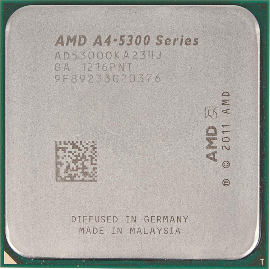 Процессор AMD X2 A4-5300 Trinity OEM (3400MHz/SocketFM2/1024Kb)<br>