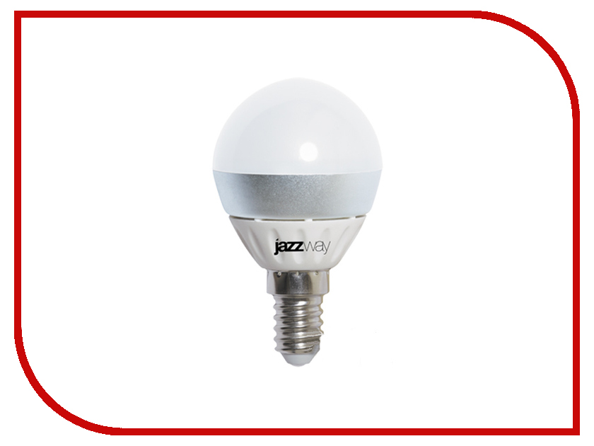 Лампочка Jazzway PLED-Combi-G45 5w 400 Lm E14 (3000K)<br>