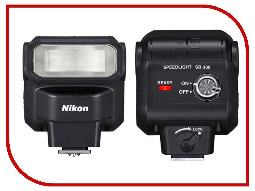 Вспышка Nikon Speedlight SB-300 цифровая фотокамера nikon speedlight sb n7 черный fsa90901