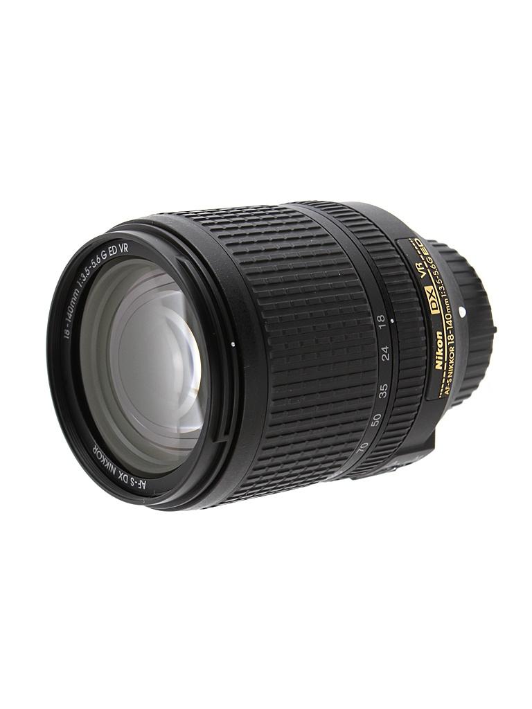 Объектив Nikon Nikkor AF-S DX VR 18-140 mm F/3.5-5.6 G ED цена