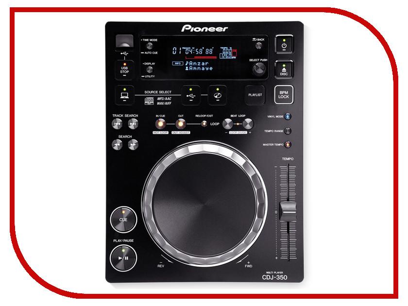 CD-проигрыватель Pioneer CDJ-350-K Black pioneer pl 990 black