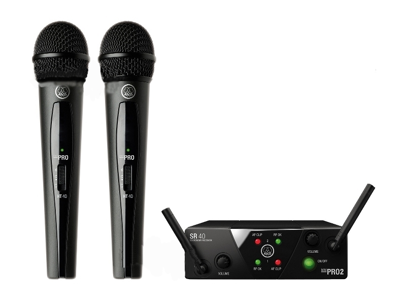 Радиосистема AKG WMS40 Mini 2 Vocal US45A/C цена и фото