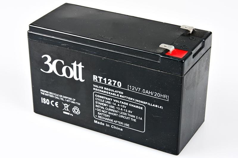 Аккумулятор для ИБП 3Cott 12V 7Ah